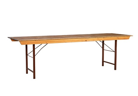 Table, wood, L: 240 cm, B:80 cm, H: 72cm