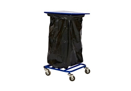 Waste stand, H: 90 cm, incl. 10 bags